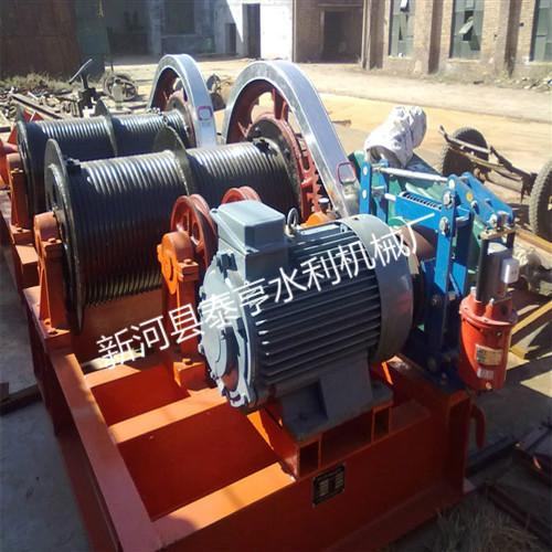 优质移动卷扬式启闭机为农田水利灌溉提效率