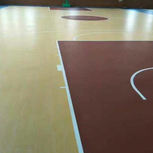 呼市体育馆国标木地板A品质