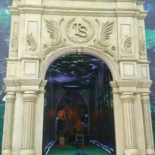 广州婚庆泡沫雕塑欧式拱门价格大概是多少?