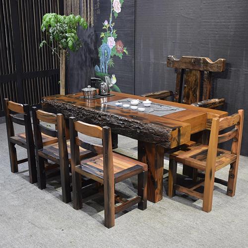 辽宁知名的老船木茶几生产制造商|专业专注