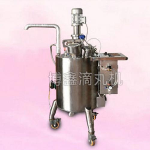 对于高温化料低温滴制的化药滴丸可设计速冷却供料装置.图片