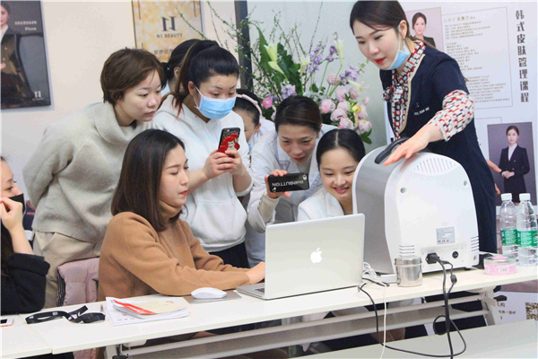 湛江韩式皮肤管理培训中心|全面的教学内容,丰富的课程设置