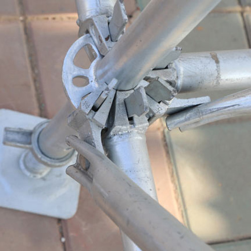 盘扣式脚手架定做厂家改善质量要规划