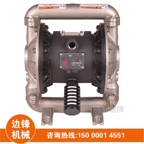 气动隔膜泵材质选择及性能介绍图片
