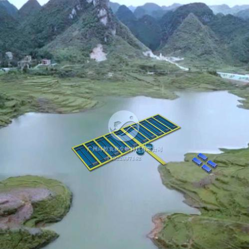 工厂化循环水养殖悬浮式养殖水槽、水处理集装箱方案