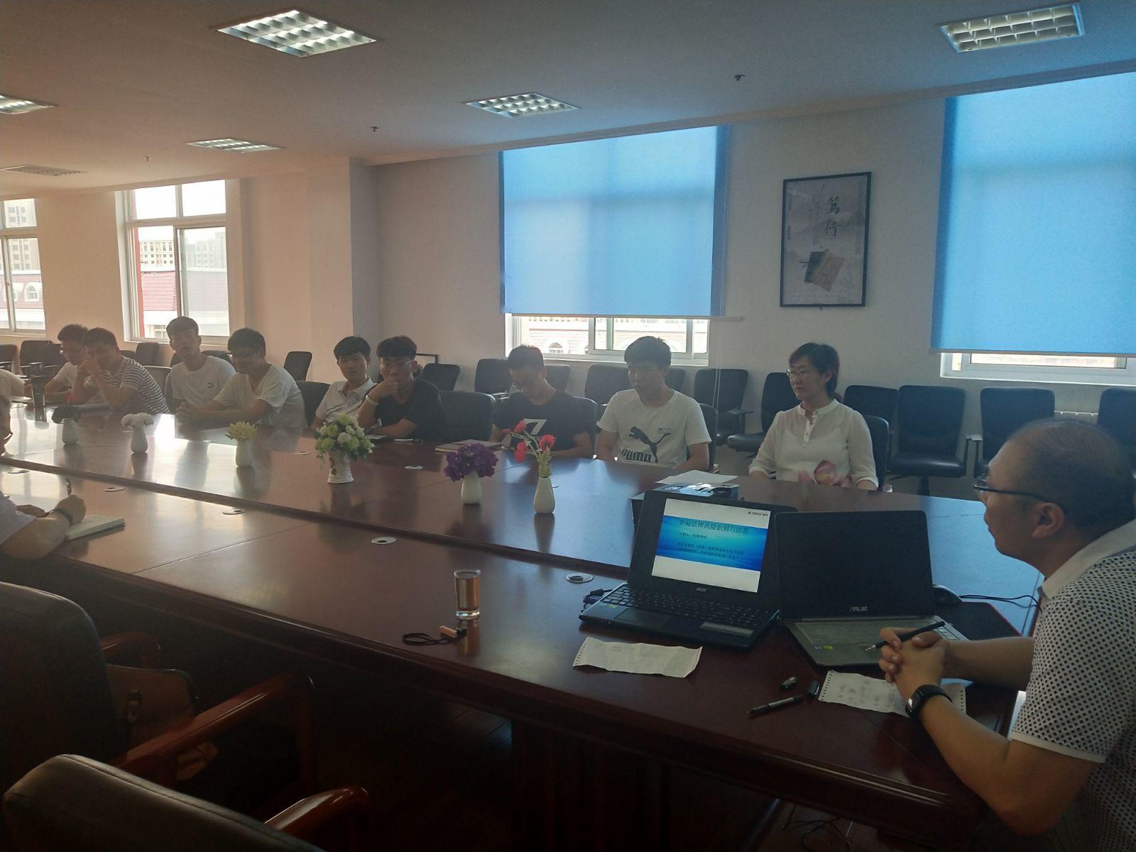 盈科青岛西海岸律师受邀参加青岛滨海学院创业孵化基地公益沙龙