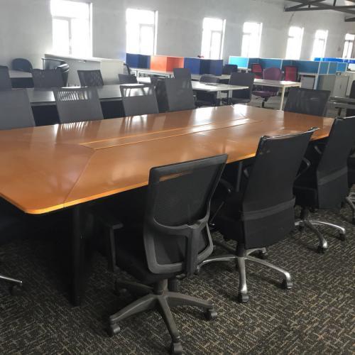天津办公家具二手班台出售价钱,利琳家具提供二手办公家具