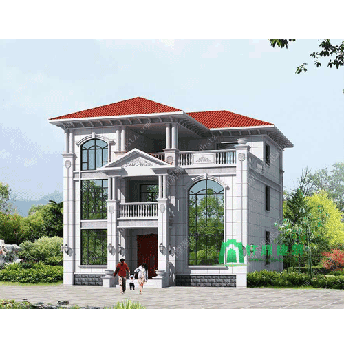 12*15欧式三层别墅设计图