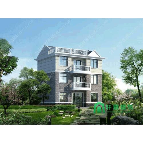 河南设计一层乡村别墅设计图如何看_轩鼎别墅设计