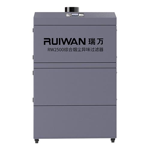湖南十大品牌烟尘综合处理器安装图