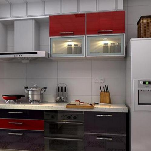 现代风格烤漆整体橱柜