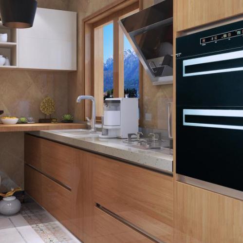 定制家具现代风格双饰面整体厨房