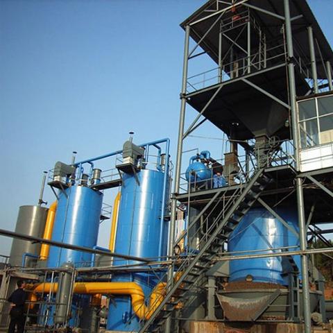 煤气发生炉脱硫设备,知名厂家,山东枣庄市义升环保设备客户认可
