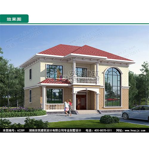 辽宁专业三层半复式别墅设计图纸
