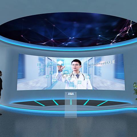 亞輝龍智慧醫療展廳
