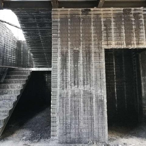 发泡混凝土现浇墙体