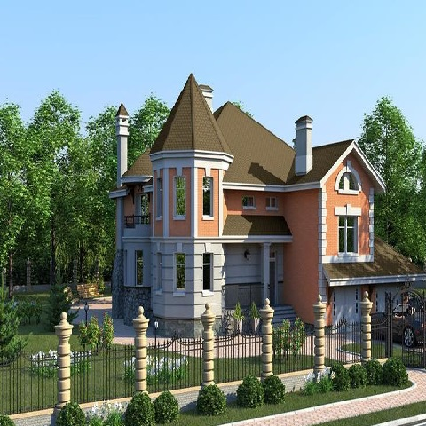 轻钢复合墙体节能别墅