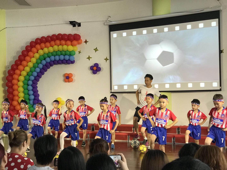 上海市幼儿园幼儿趣味足球培训课程