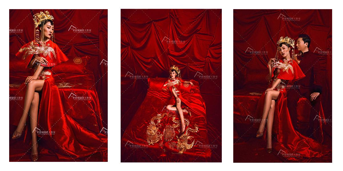 中式军装婚礼_中式复古婚纱照风格图片欣赏_新新网